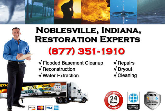 Noblesville Flooded Basement Cleanup Contractor