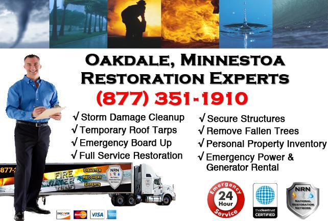 Oakdale Storm Damage Cleanup