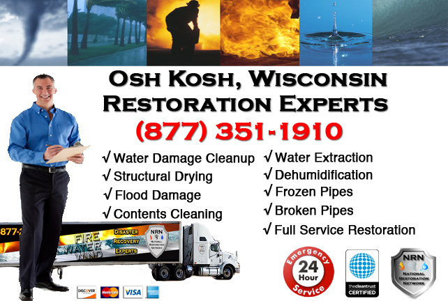 Oshkosh Water Damage Cleanup