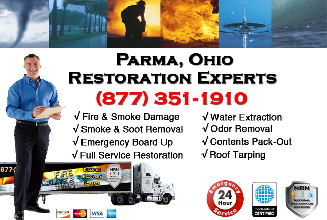 Parma Fire Damage Cleanup Company