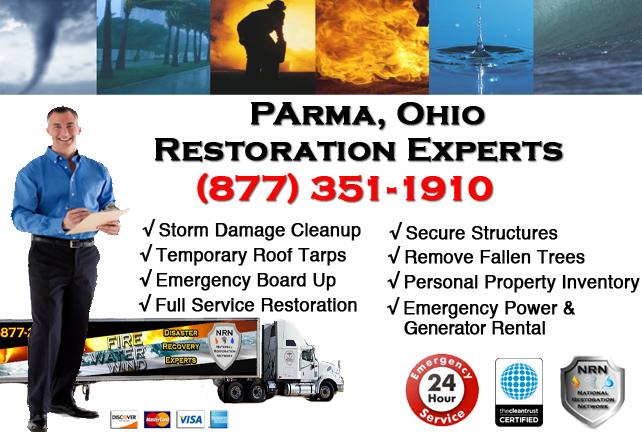Parma Storm Damage Cleanup