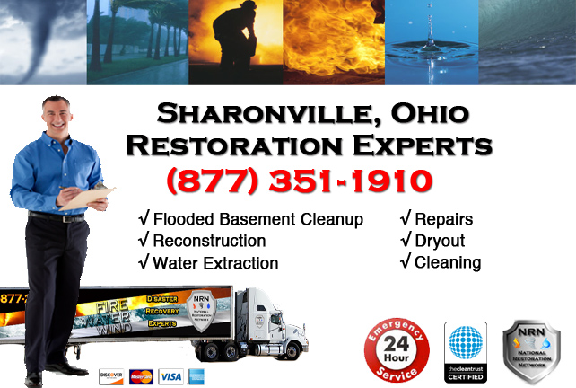 Sharonville Flooded Basement Cleanup Company
