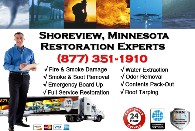 Shoreview Fire Damage Contractor
