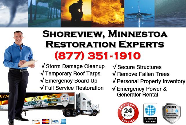 Shoreview Storm Damage Cleanup