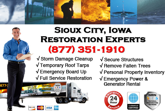 Sioux City Storm Damage Repairs & Service