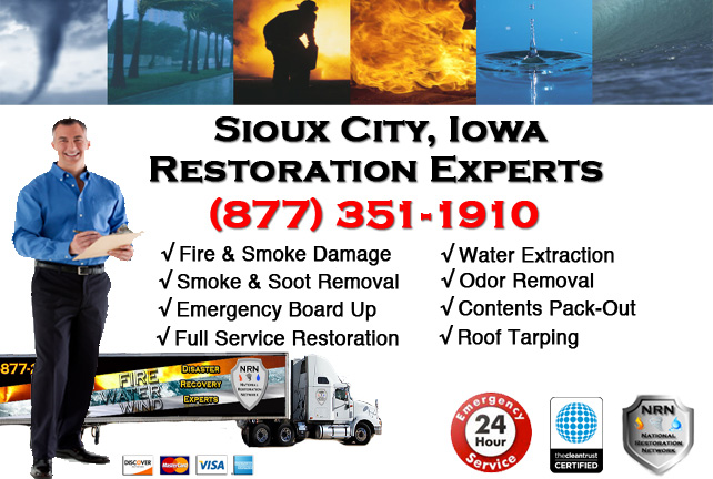 Sioux City Fire Damage Cleanup