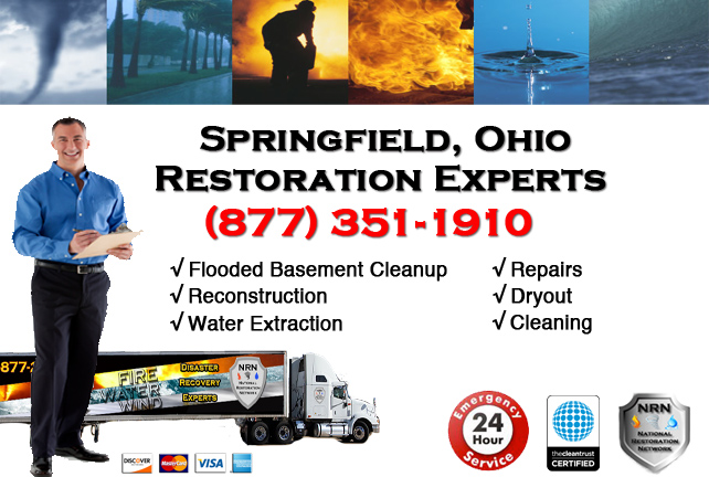 Springfield Flooded Basement Cleanup Company