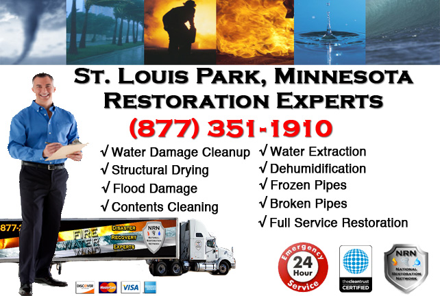 St Louis Park Water Damage Cleanup & Repairs