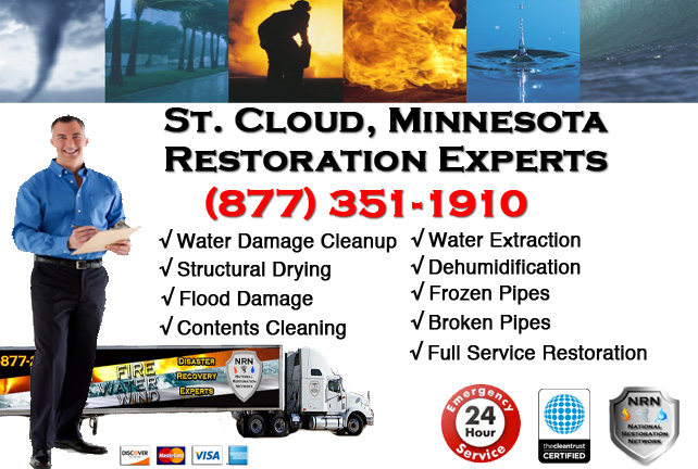 St. Cloud Water Damage Cleanup & Repairs