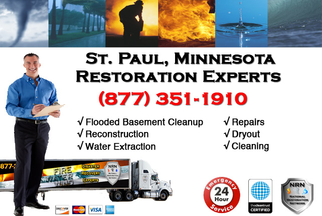 St. Paul Flooded Basement Cleanup & Repairs