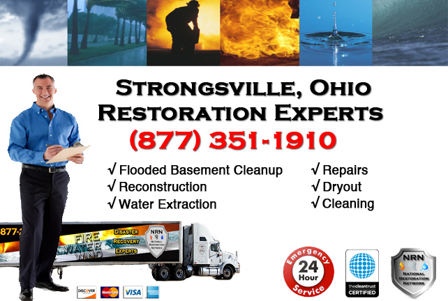 Strongsville Flooded Basement Cleanup Company