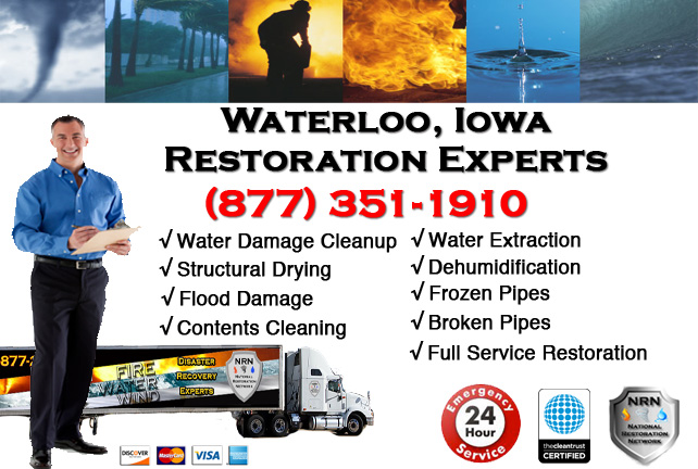 Waterloo Water Damage Cleanup