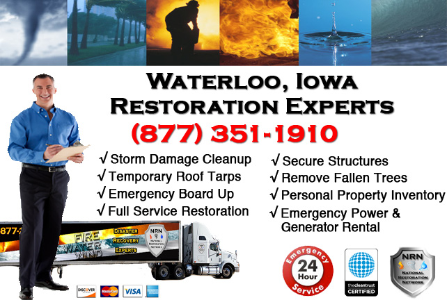 Waterloo Storm Damage Repairs & Service