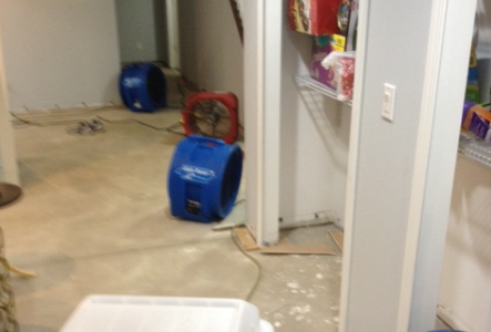 dryers in basement