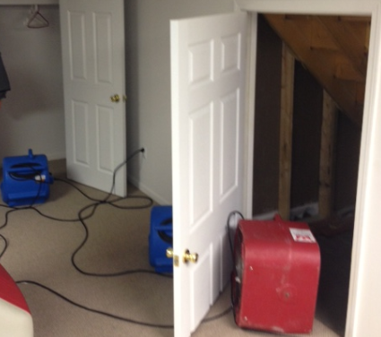 picture of basement and equipment