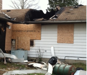 Homeowner Fire Damage