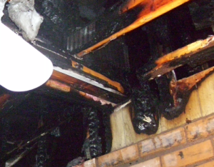 structural fire damages
