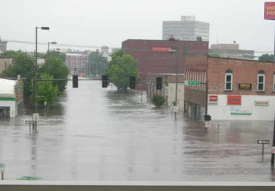 historical flooding photo