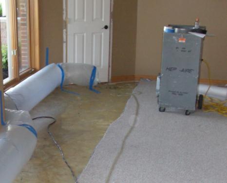 picture of water damage repair