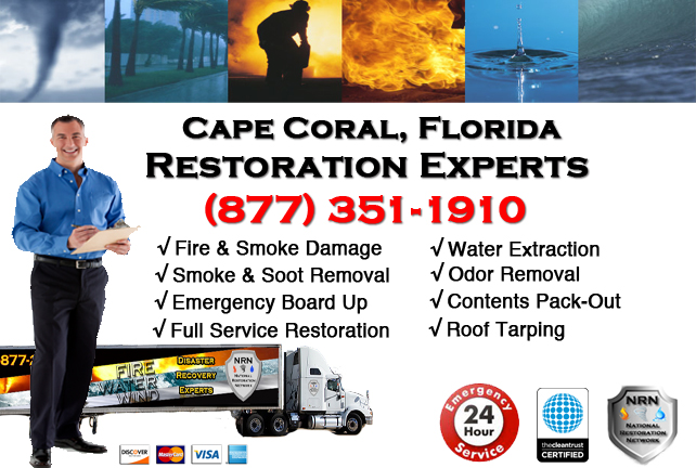 Cape Coral Fire and Smoke Damage Repairs