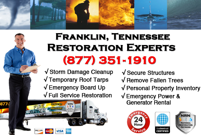 Franklin Storm Damage Repairs