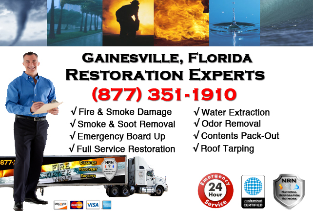 Gainesville Fire and Smoke Damage Repairs