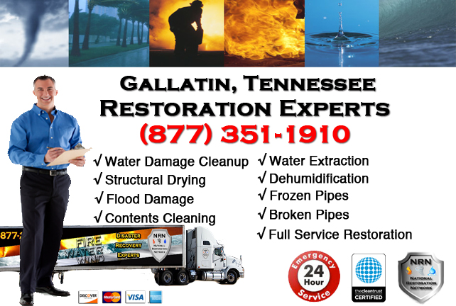 Gallatin Water Damage Restoration