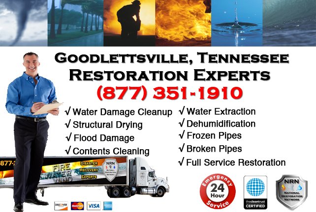 Goodlettsville Water Damage Restoration