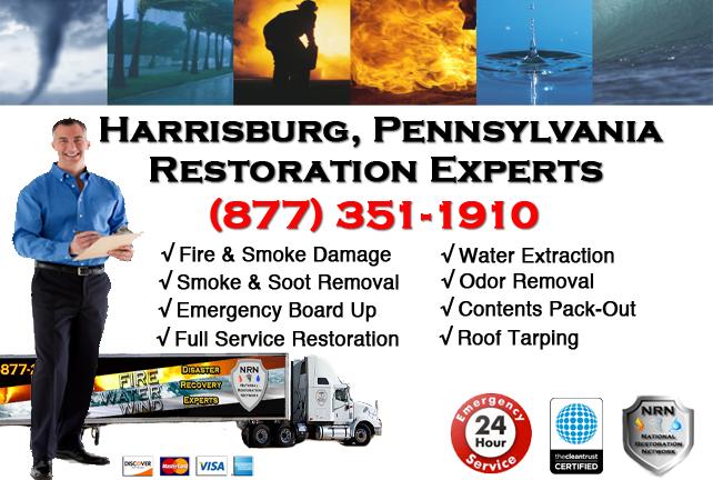 Harrisburg Fire and Smoke Damage Repairs