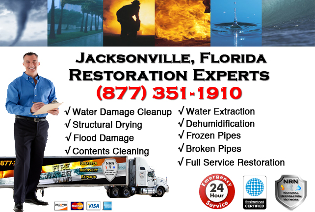 Jacksonville Water Damage Restoration