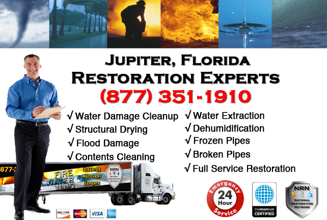 Jupiter Water Damage Restoration