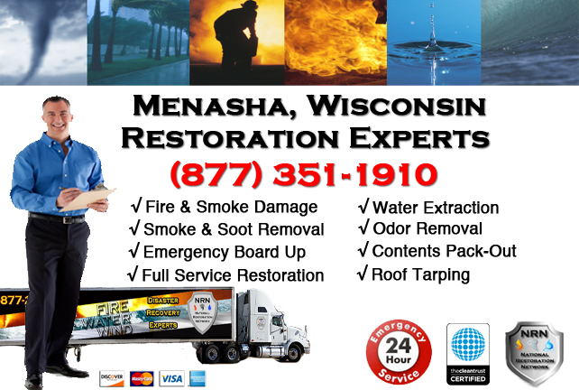 Menasha Fire Damage Restoration Contractor