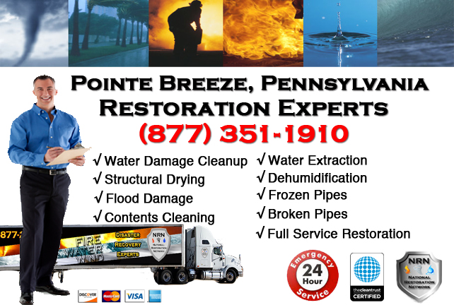Pointe Breeze Water Damage Restoration