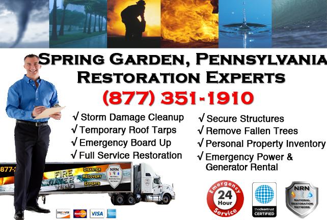 Spring Garden Storm Damage Repairs
