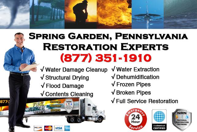 Spring Garden Water Damage Restoration