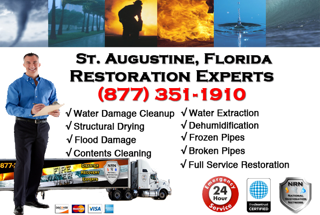 St Augustine Water Damage Restoration