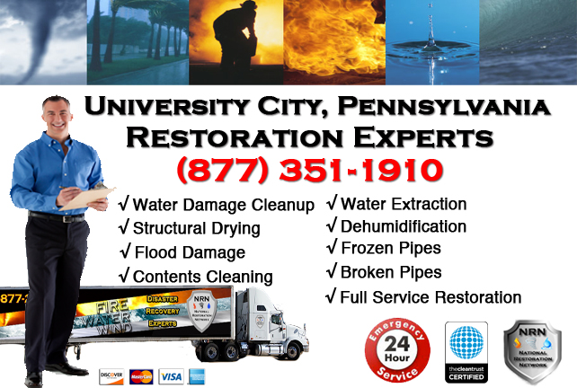 University City Water Damage Restoration
