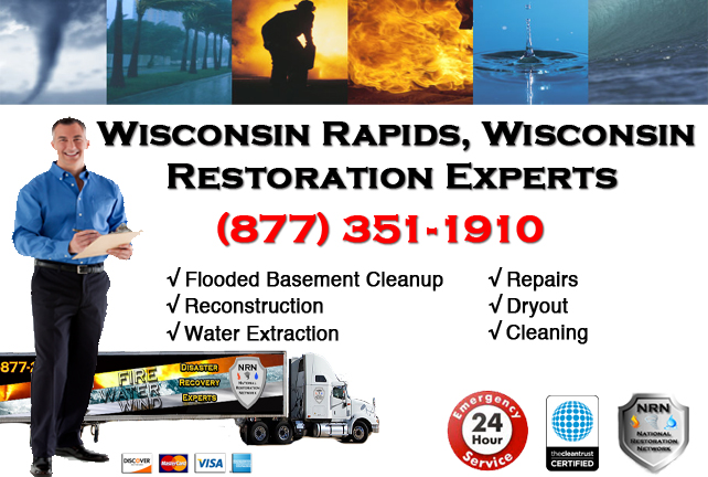Wisconsin Rapids Flooded Basement Cleanup
