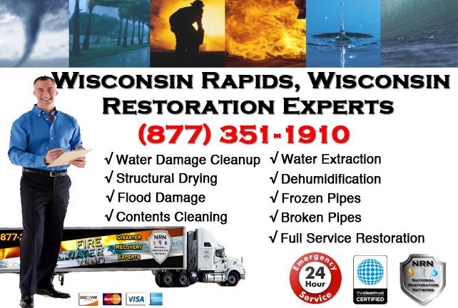 Wisconsin Rapids Water Damage Restoration