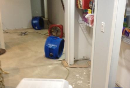 drying equipment for basement
