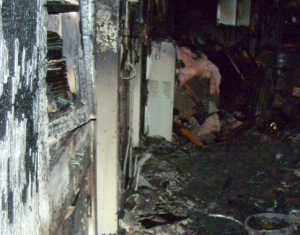 kitchen fire damages