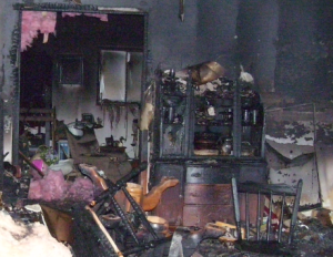 major fire damage properties