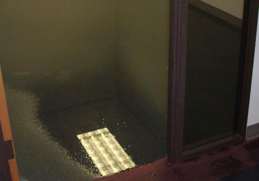 wet basement problem