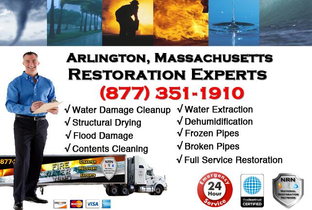 Arlington Water Damage Restoration