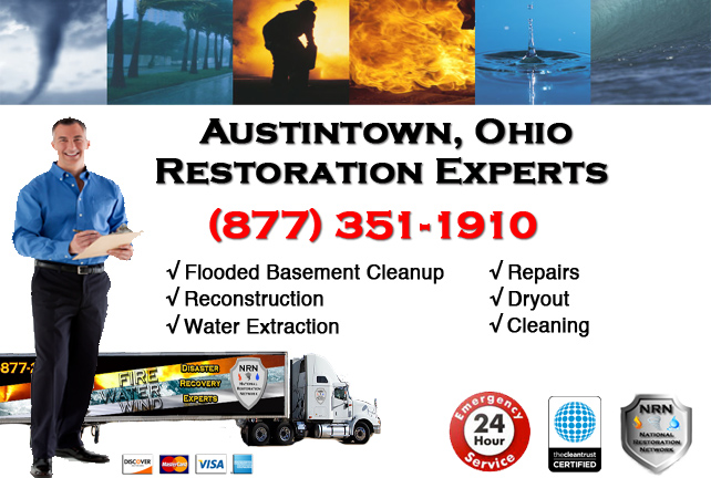 Austintown Flooded Basement Cleanup Company