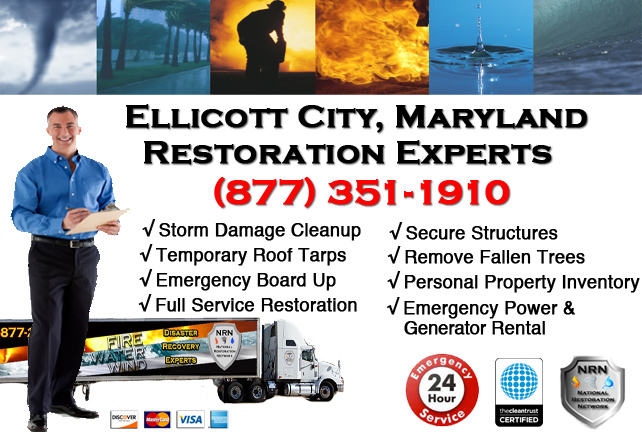 Ellicott City Storm Damage Cleanup