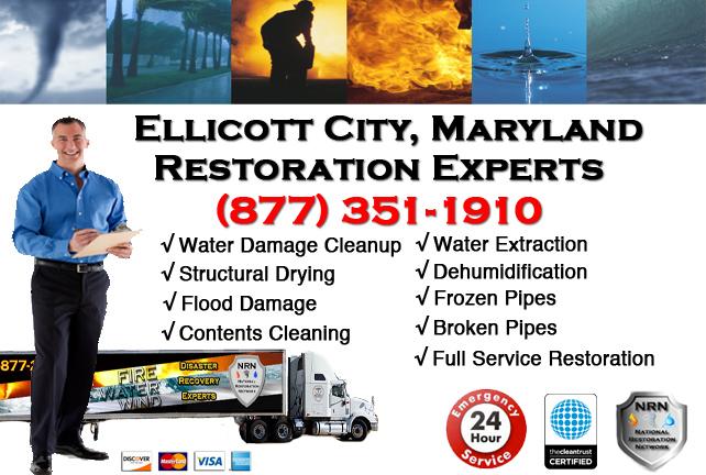 Ellicott City Water Damage Cleanup