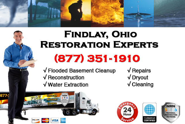 Findlay Flooded Basement Cleanup Company
