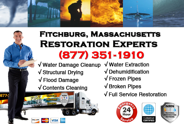 Fitchburg Water Damage Restoration