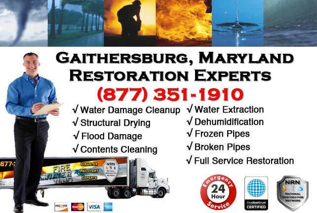 Gaithersburg Water Damage Cleanup